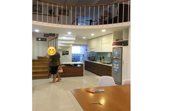 Loft house in Phu Hoang Anh building for rent