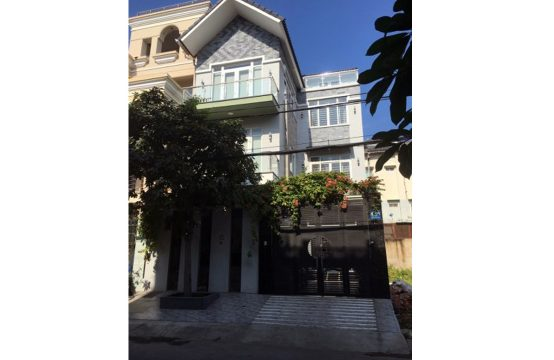 House for rent on Huynh Tan Phat street, district 7, HCMC