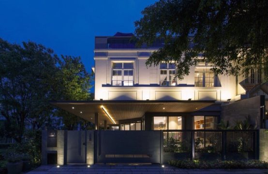 Luxury villa for rent located in My Phuoc Phu My Hung District 7