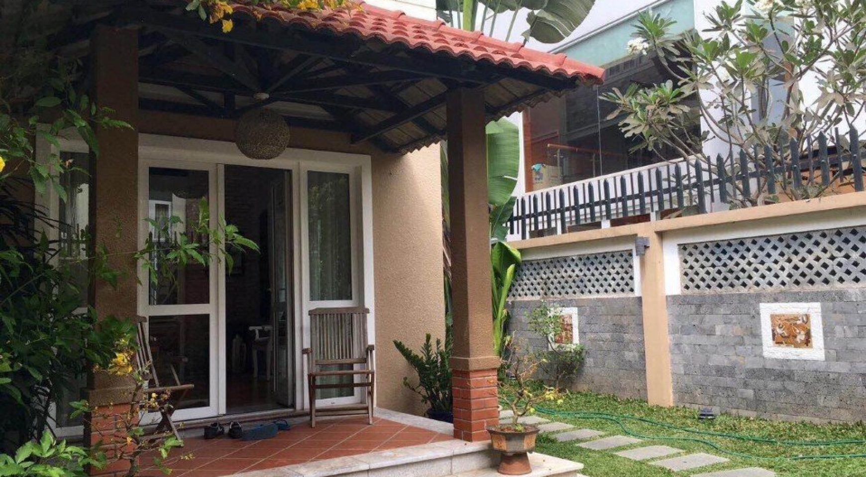 Nice villa for rent in district 7, near Phu My Hung urban ...