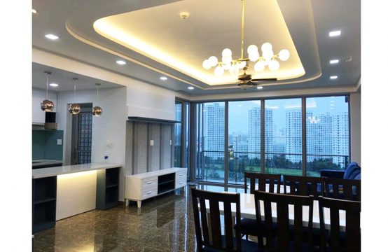 Serviced apartment for rent in Green Valley Phu My Hung urban area