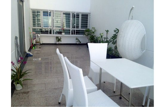 Nice loft Phu Hoang Anh apartment for rent in district 7 HCMC