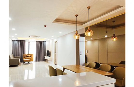 Luxury apartment for rent in Le Jardin Phu My Hung