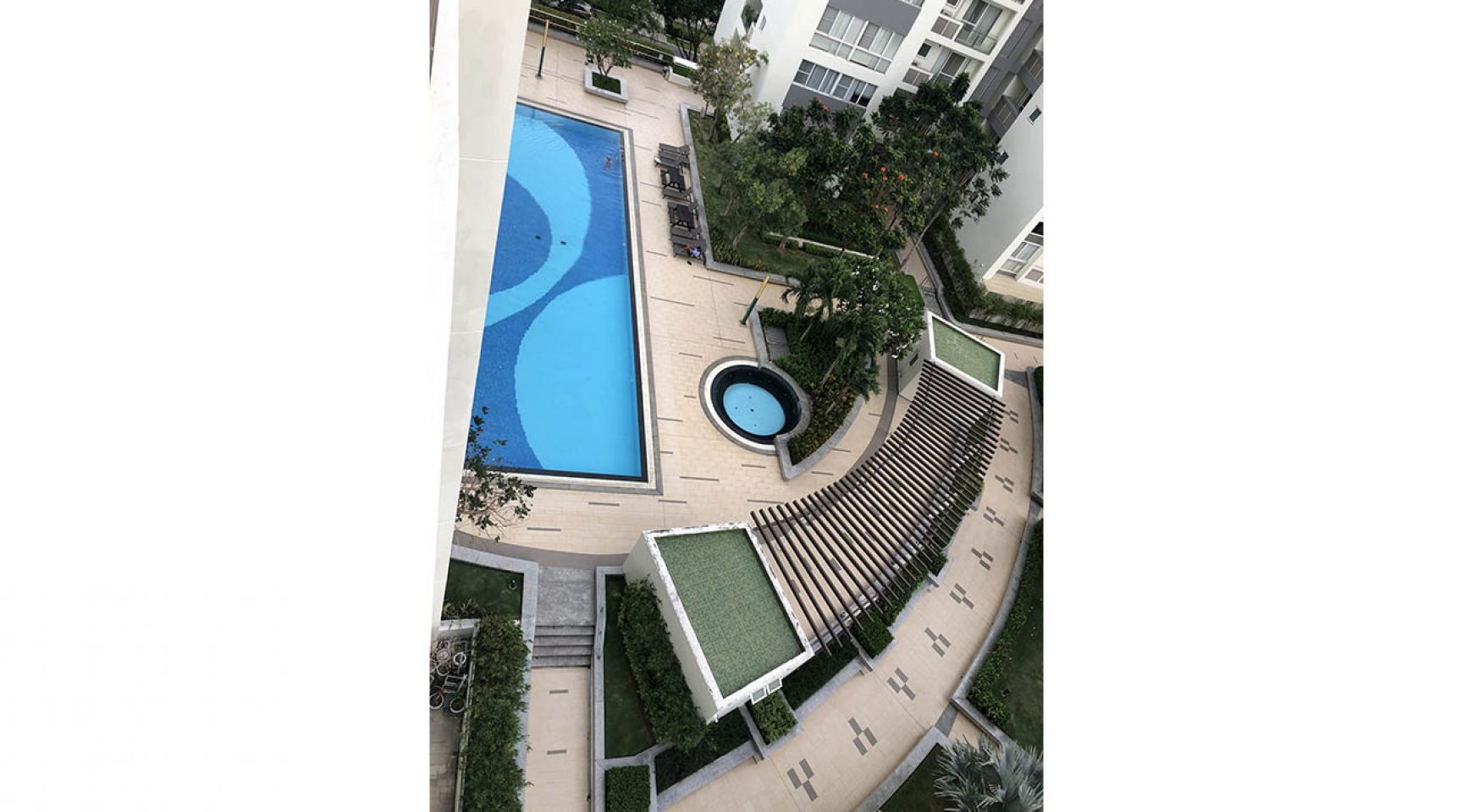 Nice apartment in RiverPark building for rent - SAIGON ...