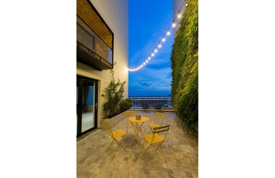 Duplex apartment in Phu Hoang Anh building for lease